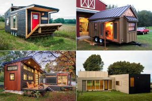 Contemporary Mini Houses